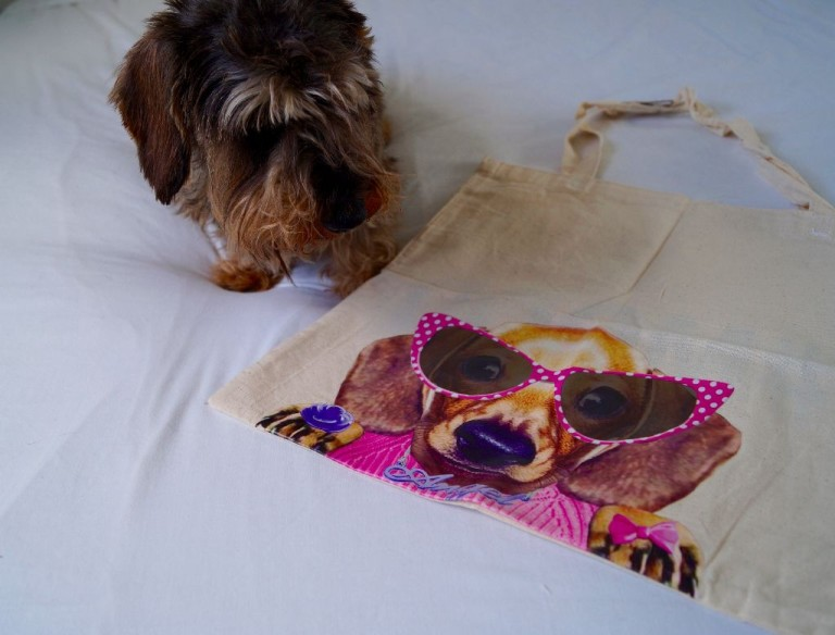 M & Co Sausage Dog Bag