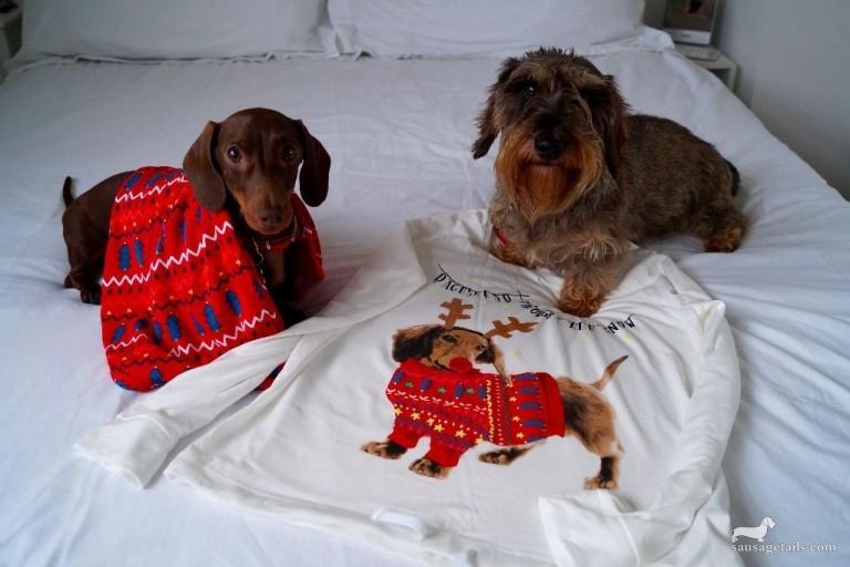 Marks & Spencer Dachshund Pyjamas