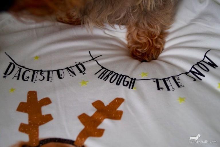 Marks & Spencer Christmas Dachshund Pyjamas