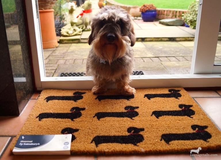 Sainsburys Sausage Dog Doormat