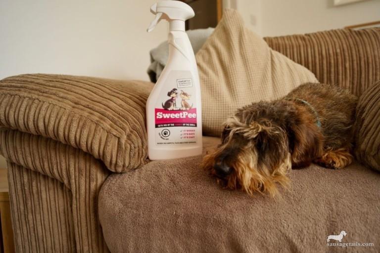 Sweet Pee Dog Spray